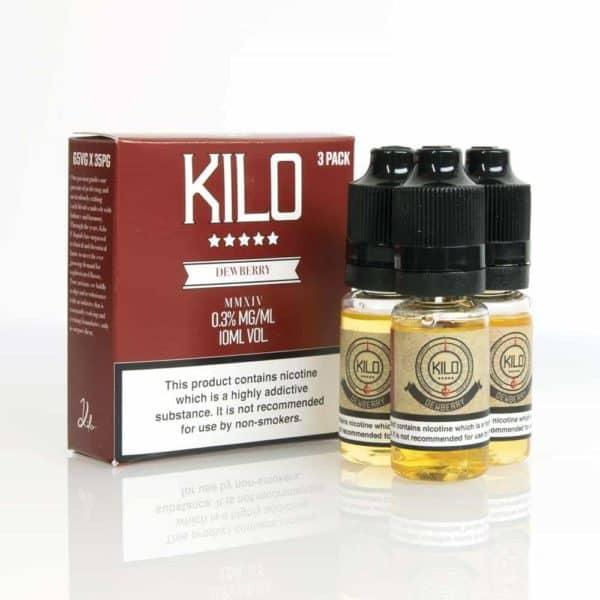 Kilo Dewberry Cream E-liquid 3 X 10ML