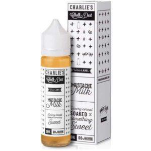 Charlie's Chalk Dust - Mustache Milk E-liquid