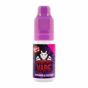 Vampire Vape Rhubarb And Custard E-liquid