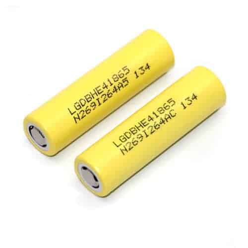 LG HE4 2500mAh Battery (Twin Pack)