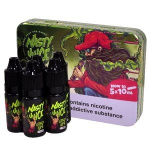 Nasty Juice – Green Ape E-liquid (50ml – Low Mint) 5 x10ml