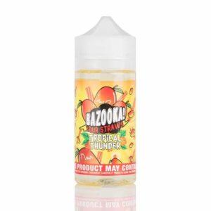 Tropical Thunder by Bazooka – Mango Tango Sour Straws 100mL