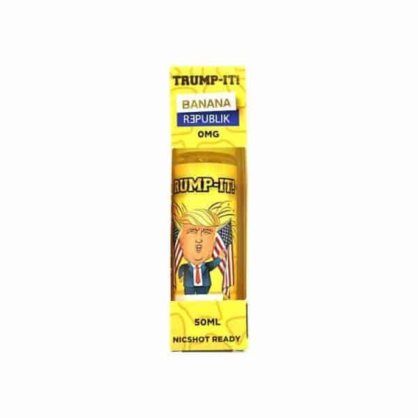 TRUMP-IT! E-LIQUID BANANA REPUBLIK