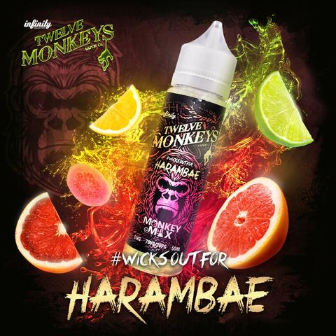 12 Monkeys – Harambae E-liquid