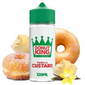 DONUT KING – VANILLA CUSTARD