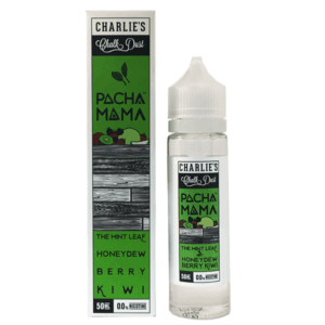 Charlie's Chalk Dust E Liquid – Pacha Mama The mint Leaf, Honeydew, Berry & Kiwi