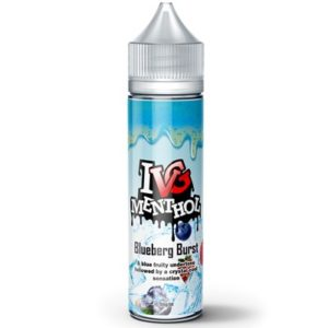 BLUEBERG BURST ELIQUID BY I VG MENTHOL