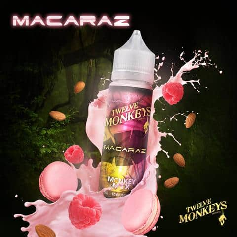 12 Monkeys – Macaraz E-liquid shortfill