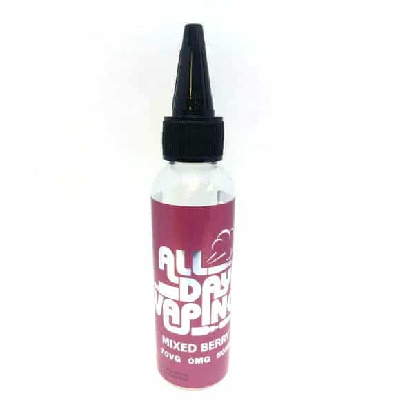 All Day Vaping Mixed Berries