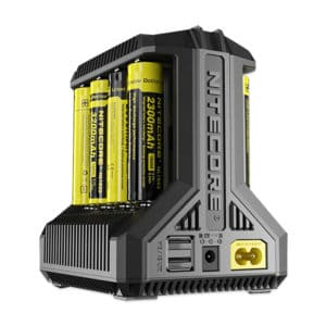 Nitecore i8 Intellicharger Multi-slot Intelligent Battery Charger – 8 x Battery Slots