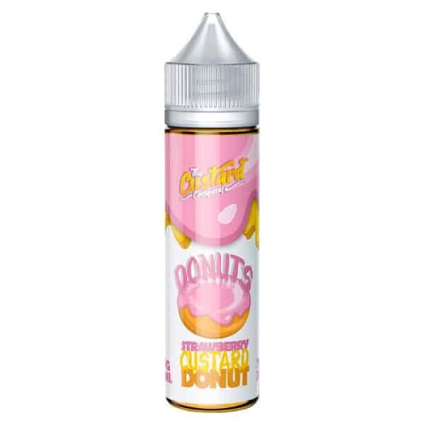 Strawberry Custard Donut by The Custard Company