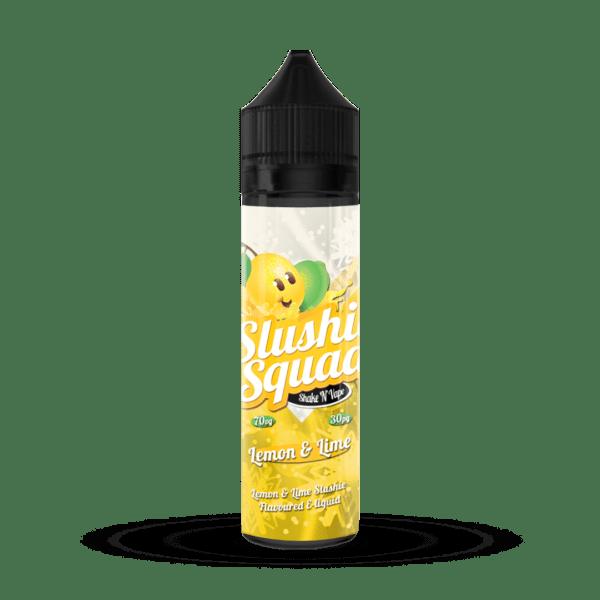 Lemon & Lime Slush E-liquid by Slushie Squad