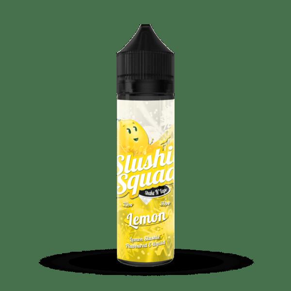 Lemon Slush E-liquid by Slushie Squad
