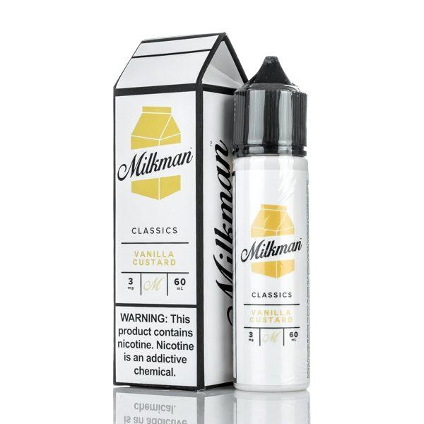 Vanilla Custard E-liquid – The Milkman Classics