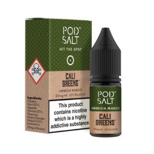 Pod Salt – Amnesia Mango Nicotine Salt E-Liquid