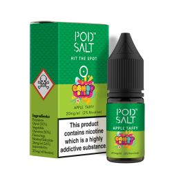 Pod Salt – Apple Taffy Nicotine Salt E-Liquid