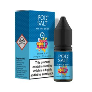 Pod Salt – Bubble Blue Nicotine Salt E-Liquid