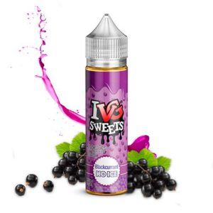 BLACKCURRANT NO ICE ELIQUID BY I VG SWEETS