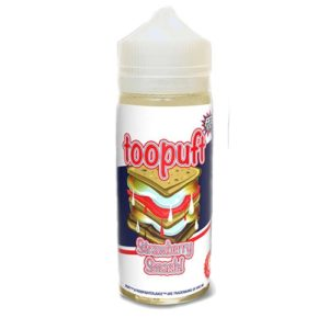TooPuft Strawberry Smash- Food Fighter Juice
