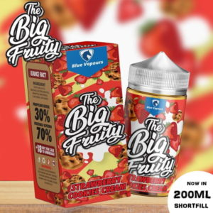 THE BIG FRUITY - STRAWBERRY COOKIES CREAM