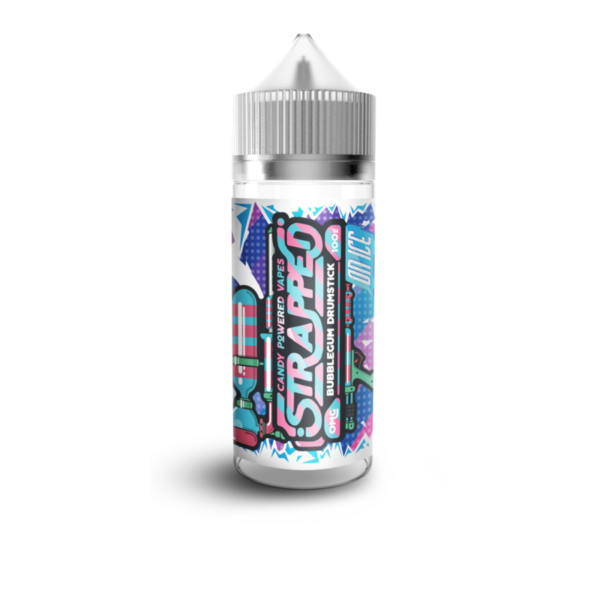 Bubblegum Drumstick On Ice by Strapped E-Liquid