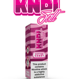 COTTON CANDY NIC SALT BY KNDI Ejuice