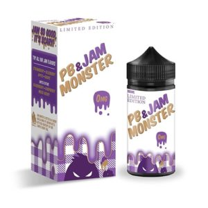 Jam Monster PB & Jam Grape Limited Edition E-Liquid