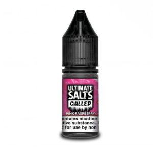 Ultimate Salts Chilled 10ml Pink Raspberry