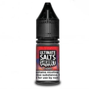 Ultimate Salts Sherbet 10ml Cherry