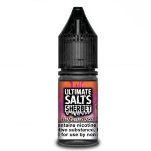 Ultimate Salts Sherbet 10ml Strawberry Laces