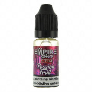 PASSION FRUIT NIC SALT BY EMPIRE BREW E LIQUID 10ML