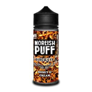 Moreish Puff Honey And Cream Tobacco E-Liquid