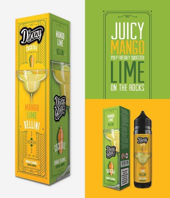 Mango Lime Bellini by Doozy Cocktails