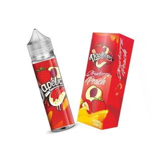 Strawberry Peach By Vapelicious E Liquid