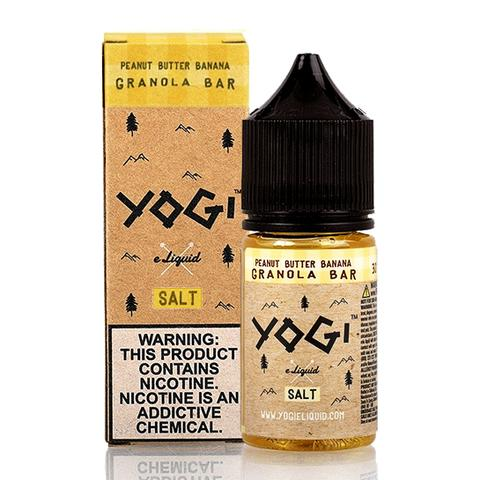 Yogi Salt – Peanut Butter Banana Granola Bar