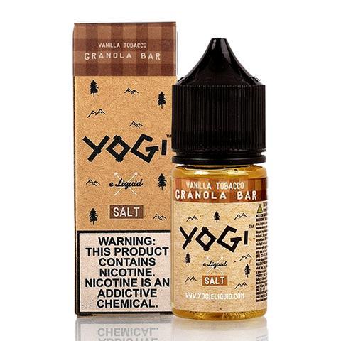 Yogi Salts – Vanilla Tobacco Granola Bar