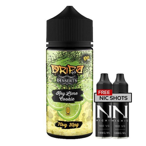 Dripd Desserts – Key Lime Cookie E-liquid