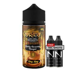 Dripd Desserts – Nutty Caramel Nougat E-liquid