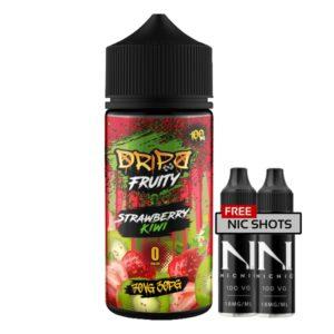 Dripd Fruity – Strawberry Kiwi E-liquid