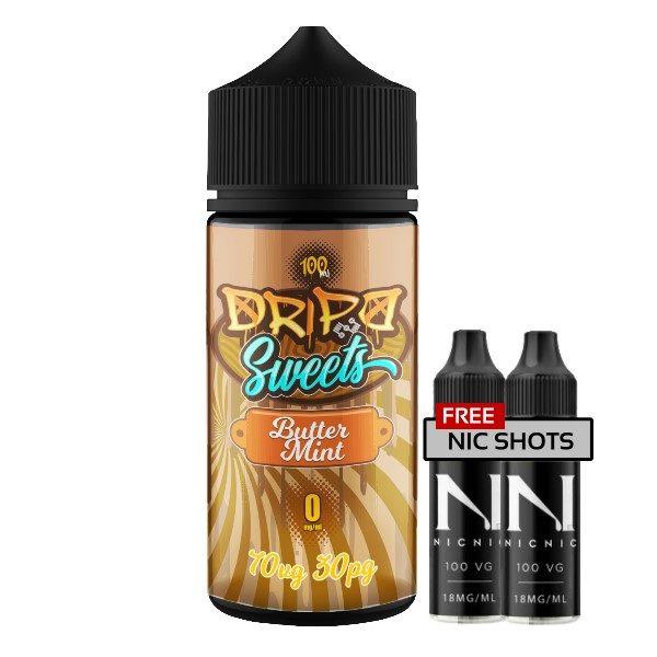 Dripd Sweets – Butter Mint E-liquid
