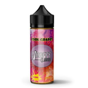 GIRAFFE ELIQUID – COOL GRAPES 100ML