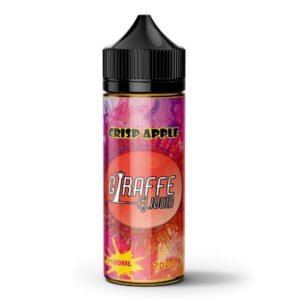 GIRAFFE ELIQUID - CRISP APPLE 100ML