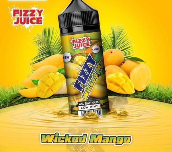 MOHAWK & CO Fizzy Wicked Mango 100ML