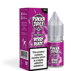Pukka Juice Berry Blaze Nic Salt