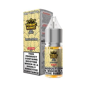 Tobac King on Salt Vanilla Custard Nic Salt