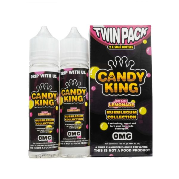 CANDY KING TWIN PACK BUBBLEGUM COLLECTION PINK LEMONADE