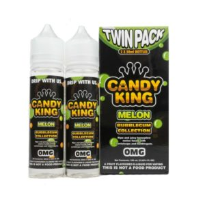 CANDY KING TWIN PACK BUBBLEGUM COLLECTION MELON