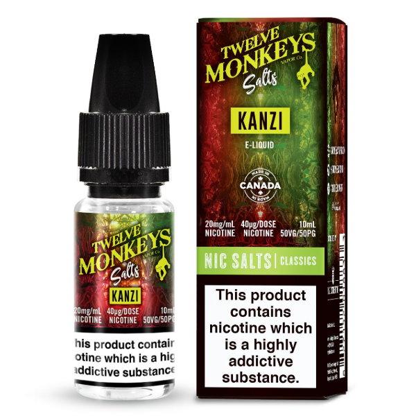 Twelve Monkeys Salts – Kanzi 10ml
