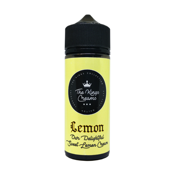 The Kings Creams – Lemon 100ml