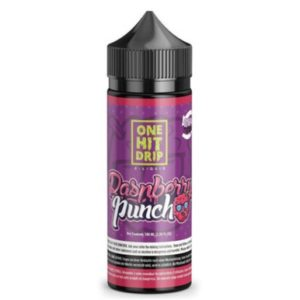 One Hit Drip – Raspberry Punch E-liquid – 100ml